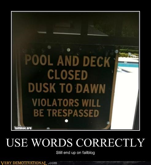 closed failblog hilarious pool sign - 4871268352