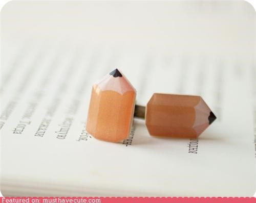 accessory cufflinks pencils teacher
