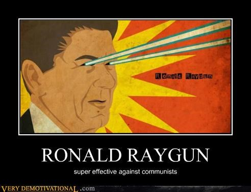 communists,Hall of Fame,hilarious,raygun,ronald ragean