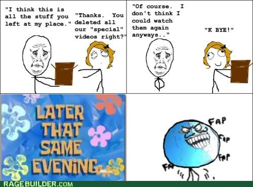 breakup faptimes Rage Comics Sad - 4871458816