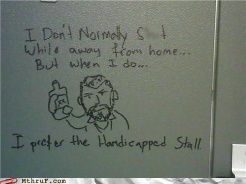 bathroom dos equis handicapped