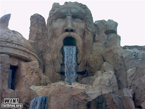 design mouth viking water waterfall - 4872074240