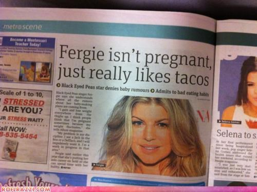 black-eyed peas celeb FAIL fergie funny news - 4872087040