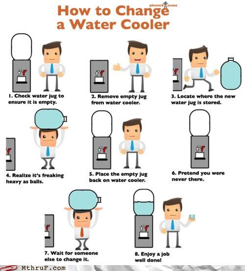 comic lazy wait for someone else to do it water cooler - 4872265216