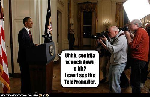barack obama political pictures teleprompter - 4872308736