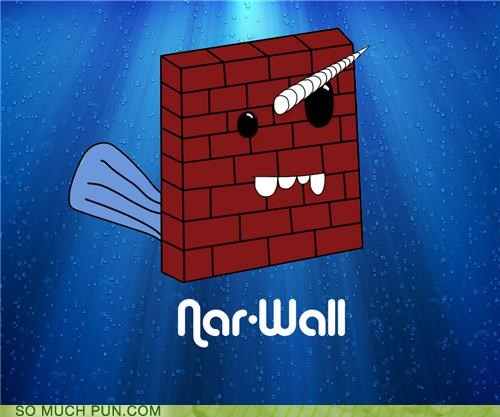 gnarly literalism narwhal prefix wall - 4872442112