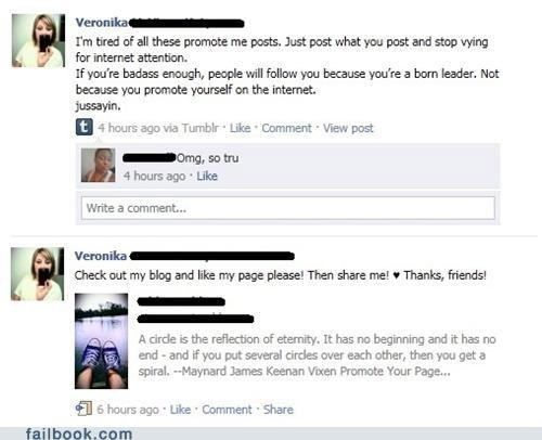 Hypocrisy,really,status updates