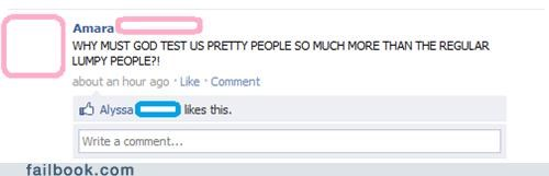 ugly people,douchebags,vanity,failbook,g rated