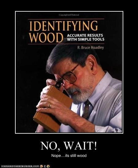 NO, WAIT! Nope....its still wood