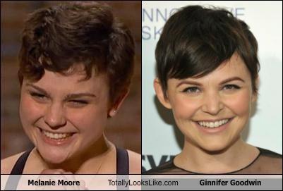 actresses Ginnifer Goodwin Melanie Moore