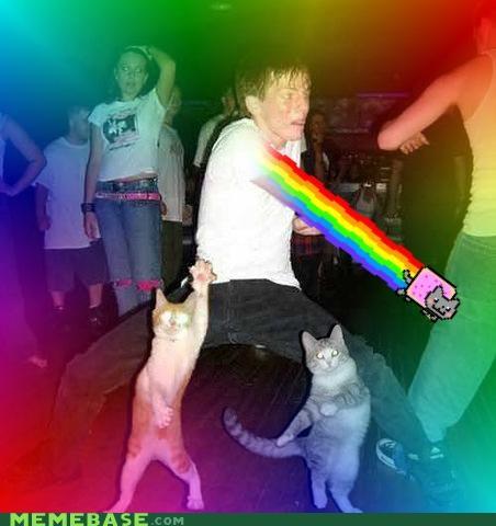 classic dance falcon Nyan Cat punch - 4873520640