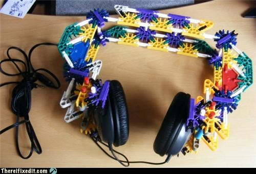 dual use,headphones,knex