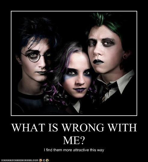 emo goth Harry Potter sexy peoples weird kid - 4874389760