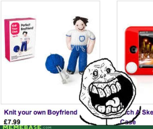 8 pounds only,boyfriend,forever alone,girlfriend,knit