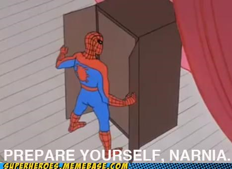 buildings narnia Spider-Man Super-Lols swinging web wtf - 4874912512