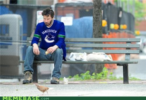 canucks hockey keanu Memes Sad sports vancouver - 4875036928