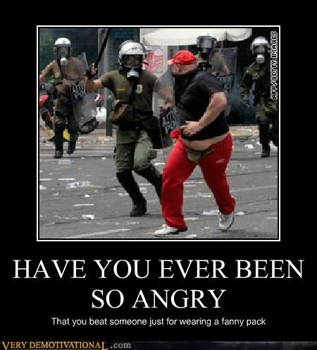angry cop fanny pack riot Terrifying - 4875223808