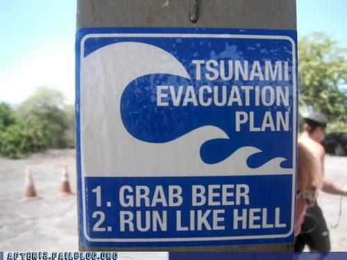 beer sign Tsunami - 4875314944