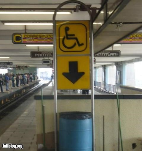 failboat g rated handicapped oddly specific signs trash - 4875344896