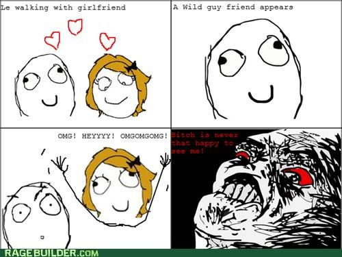 girlfriend Rage Comics weird women - 4875375616