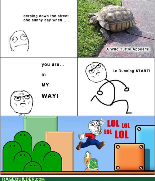 koopa,mario,Rage Comics,turtle