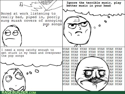 Music nyan Nyan Cat Rage Comics win - 4875487232
