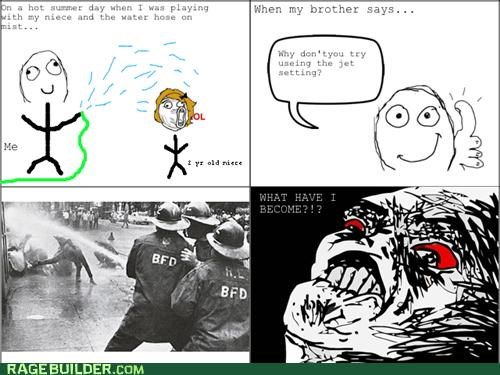jet Rage Comics setting water hose - 4875502080
