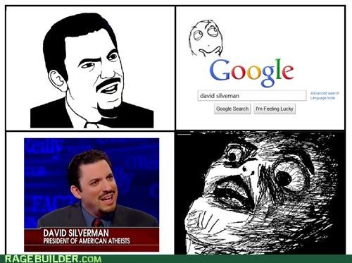 atheists david silverman Rage Comics rage faces - 4875638528