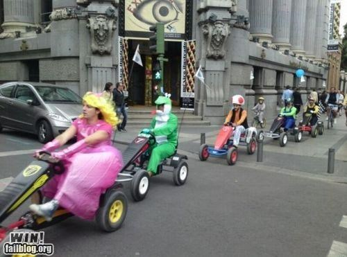 awesome Hall of Fame IRL mario Mario Kart nerdgasm racing video games - 4875969536