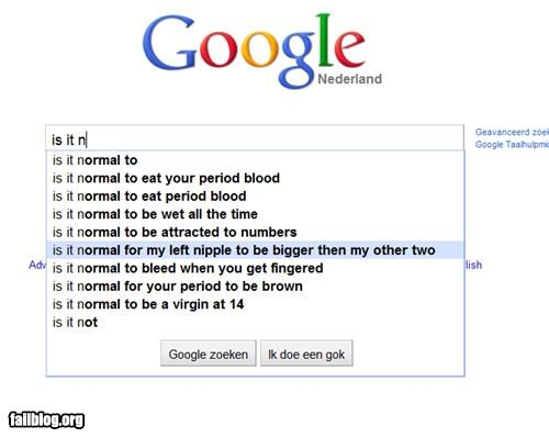 Autocomplete Me: Is It Normal...