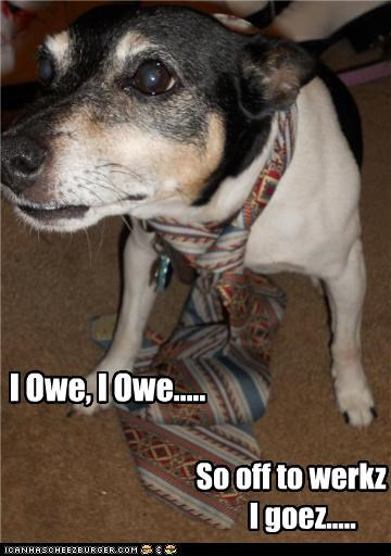 jack russell terrier parody snow white song tie work - 4876057600