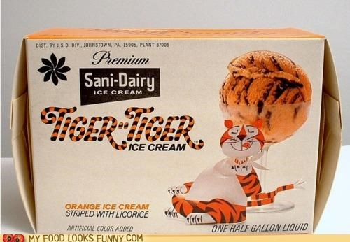 desserts favorites ice cream licorice memories nostalgia orange tiger tiger - 4876162560