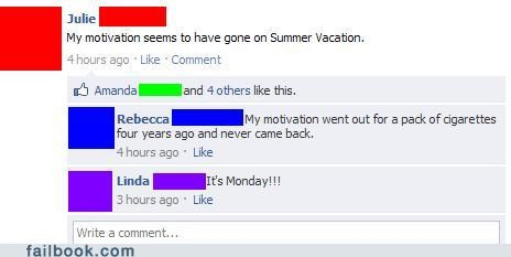 motivation summer summertime