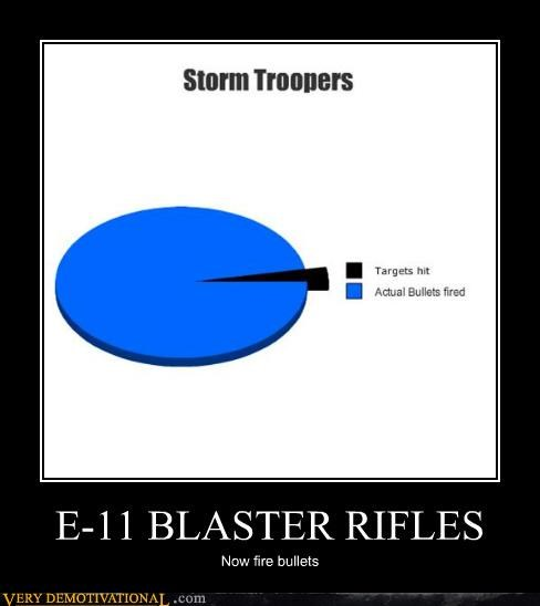 E-11 BLASTER RIFLES Now fire bullets