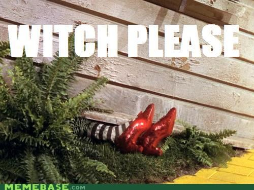 Dorothy,Memes,please,red slipper,witch,wizard of oz