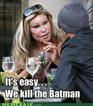 batman injection joker lips Memes simple - 4877246464