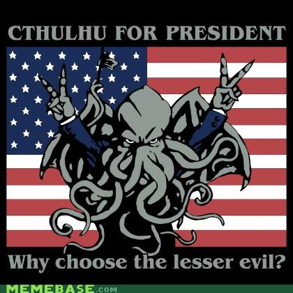 cthuluhu evil lesser Memes nixon o rly president - 4877510144