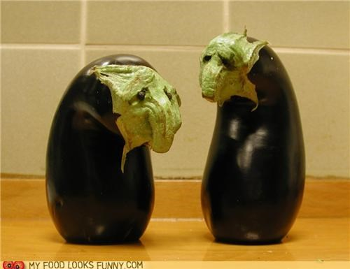 aubergine beckett droopy eggplant existential old men Sad theater Waiting for Godot - 4877898496