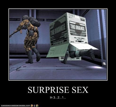 SURPRISE SEX In 3...2...1...