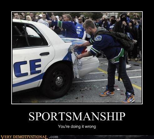 car gas tank hilarious police sportsmanship - 4877971456