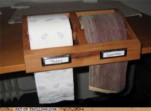IRL,soft,spartan,toilet paper