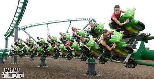 amusement park awesome fun motorcycle rollarcoaster - 4878188032