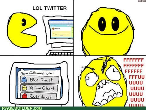 following pacman Rage Comics twitter - 4878450688