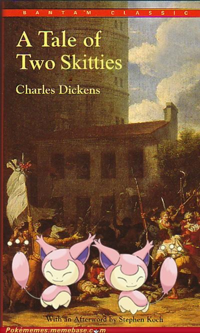 charles dickens moon Pokébooks skitty stone - 4878548224