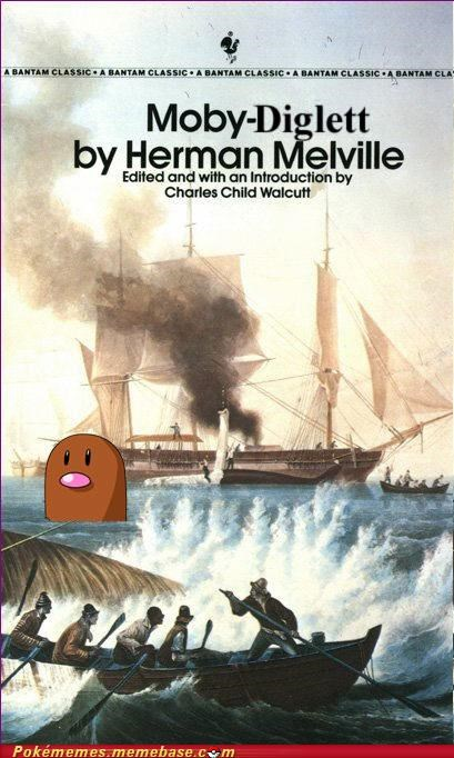 herman melville,literature,moby dick,Pokébooks