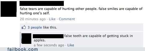 false teeth,philosophy,well