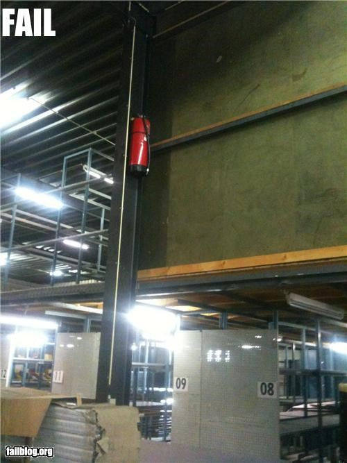 failboat,fire extenguisher,fire safety,g rated,Professional At Work