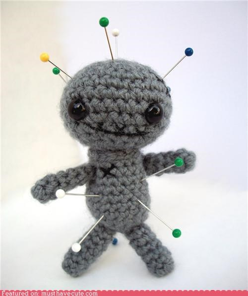 Amigurumi enemy pins punishment voodoo doll - 4878636544