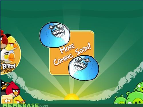angry birds coming soon i lied Rage Comics video games - 4878685440