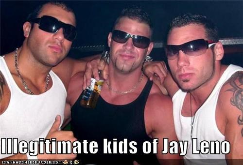 bros,jay leno,sunglasses